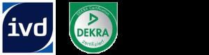 Logo IVD und DEKRA