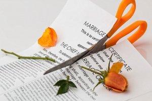 Scheidungsurkunde