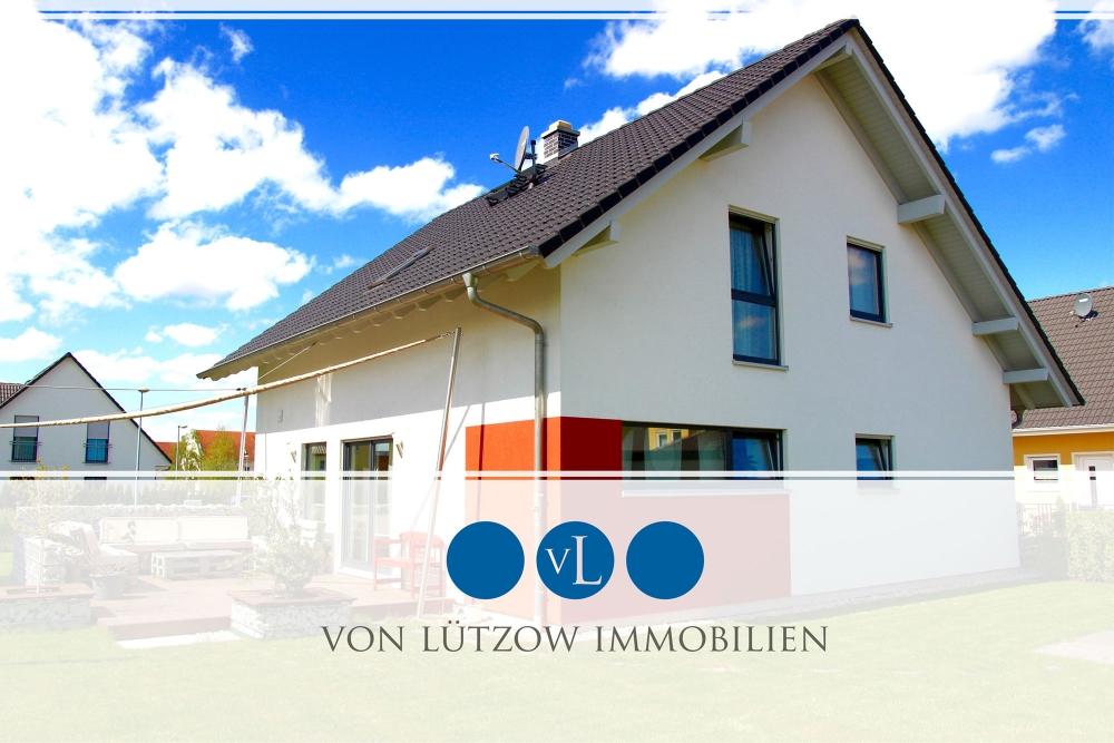 Traumhaft idyllisches Einfamilienhaus mit Kamin, Küche, Garage, Garten l wie neu, 14552 Michendorf, Einfamilienhaus