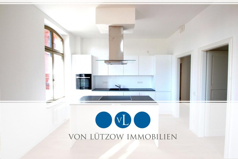 Traumhafte 2-Raum-Wohnung mit Sonnenterrasse und Küche, super Lage und Luxus Standard, 14469 Potsdam, Nauener Vorstadt, Etagenwohnung