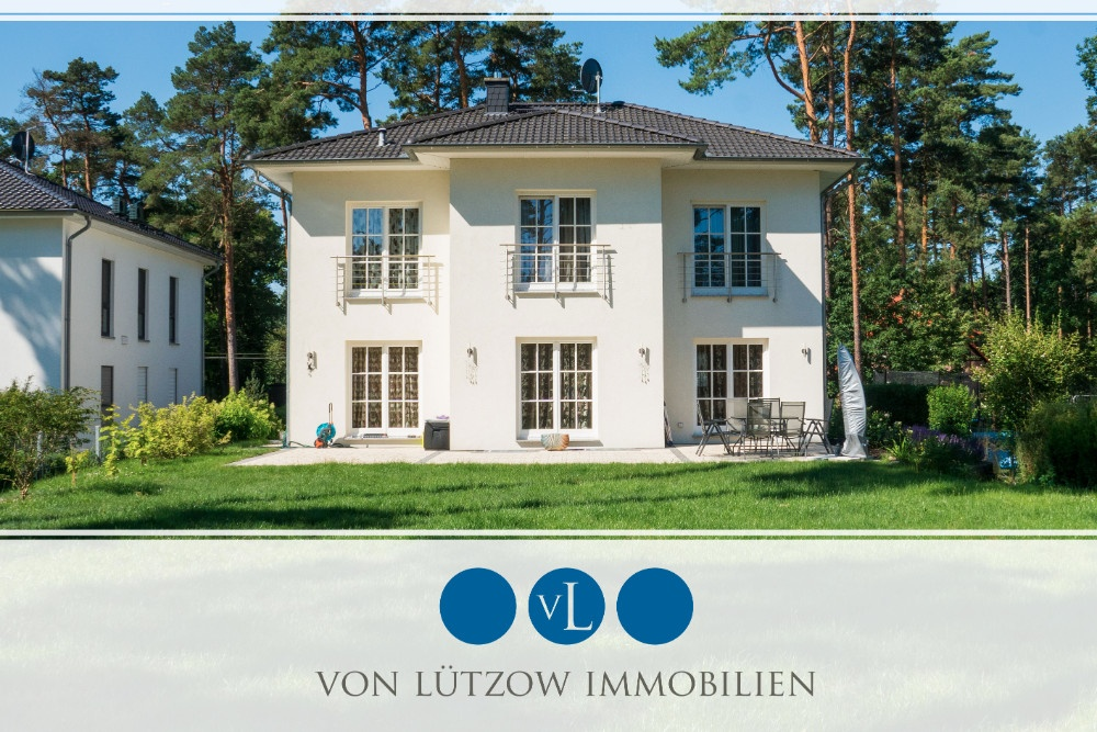 Rarität – wundervolle Villa auf großem, grünem Grundstück – Ruhe, Platz, Luxus, 14552 Michendorf / Wilhelmshorst, Einfamilienhaus
