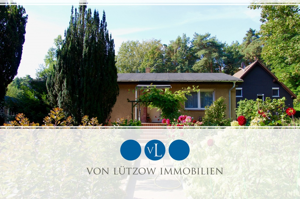 Rarität – traumhaftes Einfamilienhaus zentral in Stahnsdorf gelegen – grün – viel Platz, 14532 Stahnsdorf, Einfamilienhaus