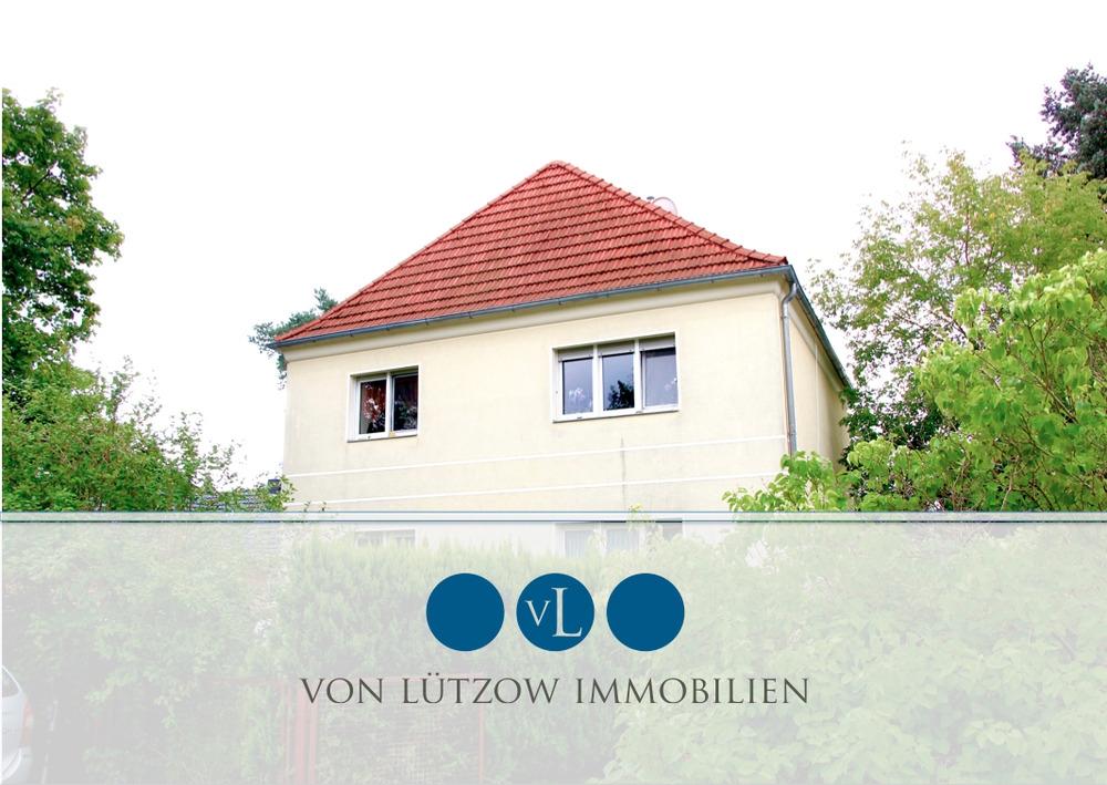 Absolute Gelegenheit – vermietetes Wohnhaus in Stahnsdorf – 2 Wohnungen – sonniger Garten, 14532 Stahnsdorf, Zweifamilienhaus