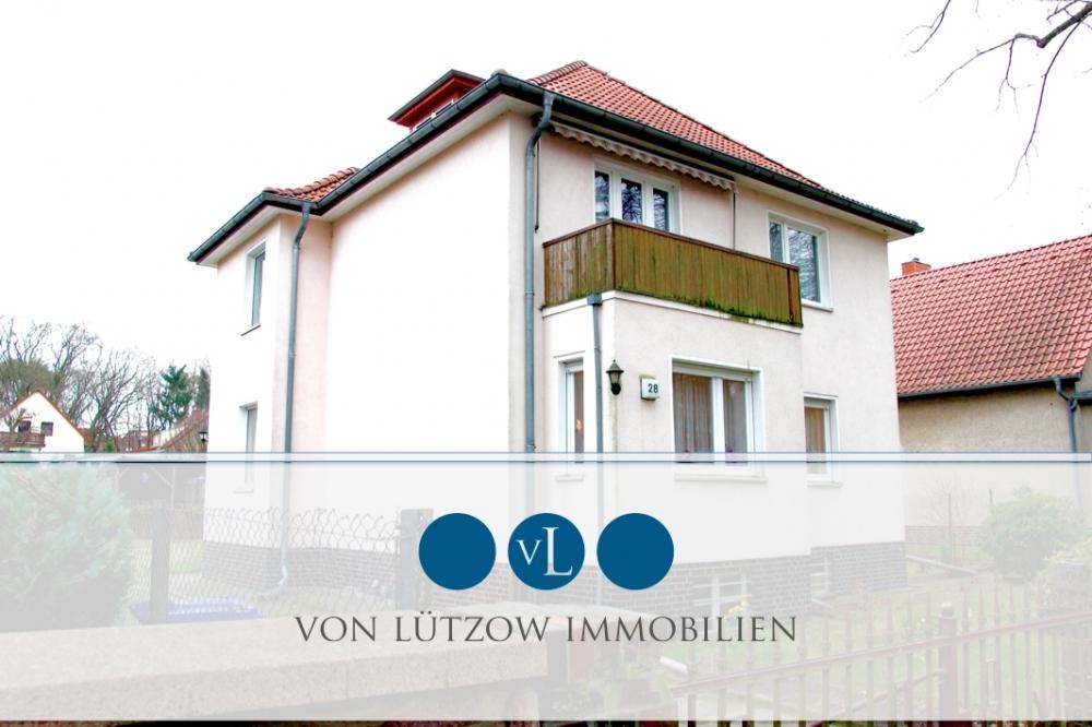 VERKAUFT – Rarität – Zweifamilienhaus mit viel Platz in Top-Lage auf sonnigem Gartengrundstück, 15711 Königs Wusterhausen, Zweifamilienhaus
