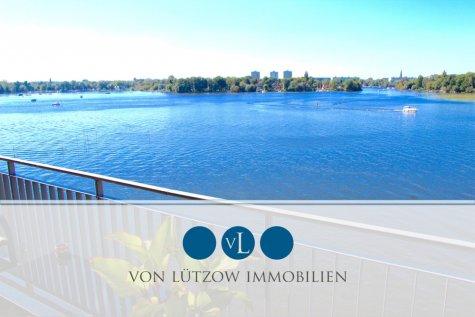 UNIKAT – Exklusiv an der Wasserfront – 4-Raum-Wohnung, 156qm, 2.OG, Balkon, Küche, A-Lage, 14473 Potsdam, Etagenwohnung