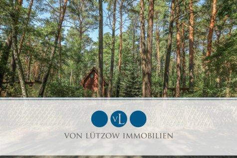 Bauträgerfrei – Wunderbar grünes Baugrundstück 1187 qm in direkter Seenähe, 15754 Heidesee / Bindow-Süd, Wohnen