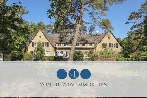 Rarität – traumhaftes Mehrfamilienhaus als Denkmal in 1A Lage, 8 WE, 553qm vermietet – großer Garten, 14552 Michendorf / Wilhelmshorst, Mehrfamilienhaus